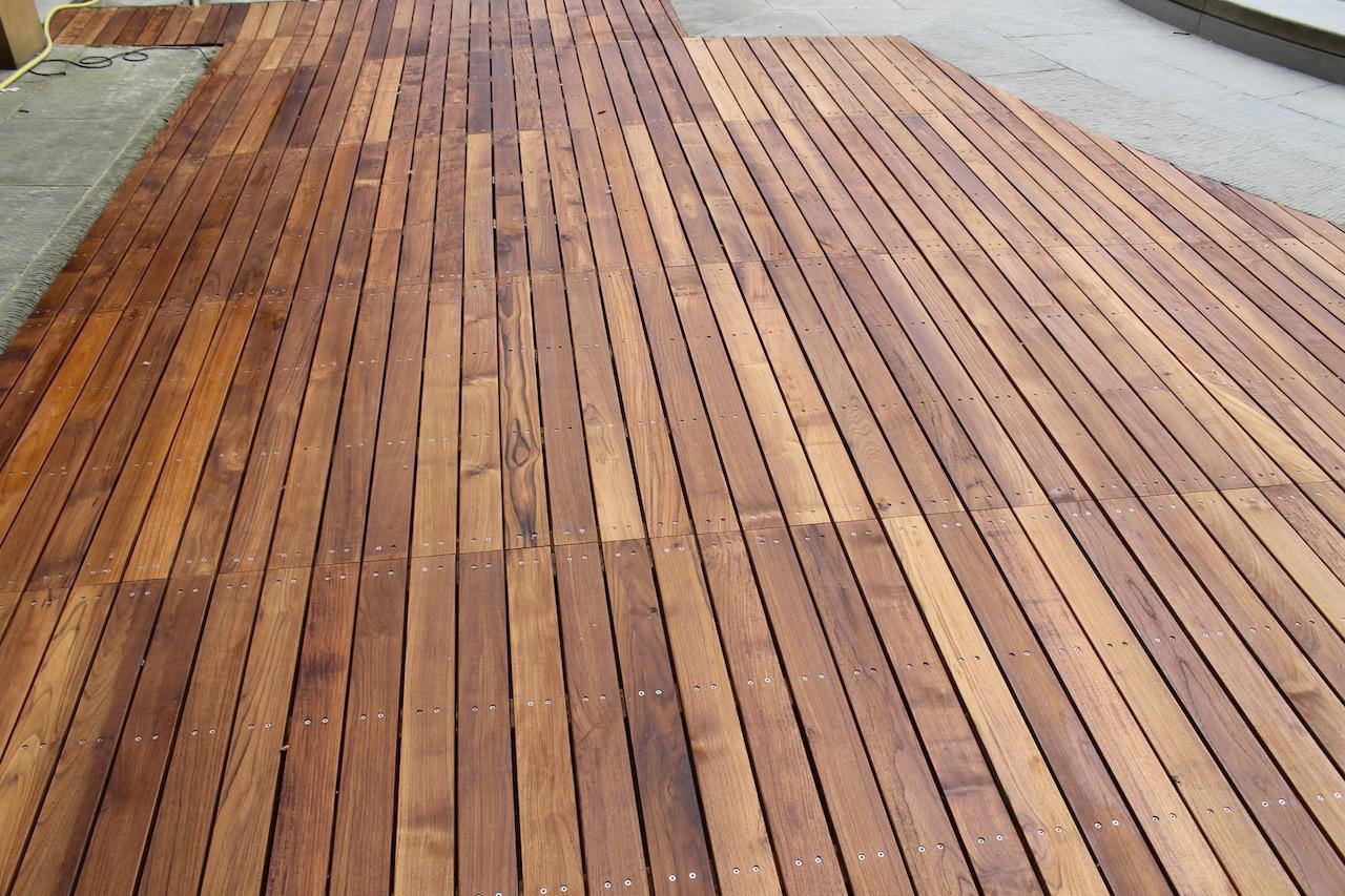 Pavimenti in legno per esterni Villa del Conte (Padova)  Busatta - Il parquet